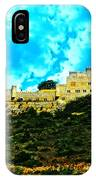 Castle In The Hot Summer Sun IPhone Case