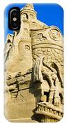 Castle In The Sand IPhone Case