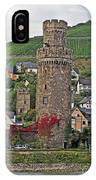 Castle Of The Rhine IPhone Case