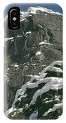 104619-castle Rock In Winter Dress IPhone Case