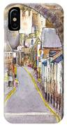 Castle Street Conwy North Wales IPhone Case
