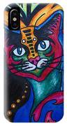 Cat 2 IPhone Case