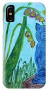 Cat And Butterflies IPhone Case