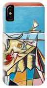 Cat And Sailboat IPhone Case