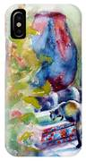 Cat Drinking Fountain IPhone Case
