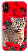 Cat In Red IPhone X Case
