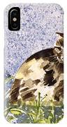 Cat Mint Wc On Paper IPhone Case