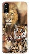 Cat Power IPhone Case