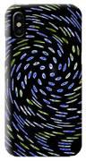 Cat Tail Swirl IPhone Case