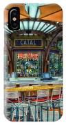 Catal Outdoor Cafe Downtown Disneyland 01 IPhone Case