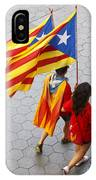 Catalan National Day 2014 IPhone Case