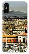 Catania Sicily IPhone Case