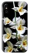 Catasetum Pileatum Orchid  IPhone Case