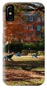 Catching Rays - Davidson College IPhone Case