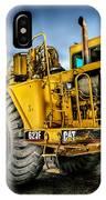 Caterpillar Cat 623f Scraper IPhone Case