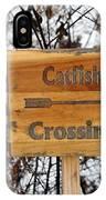 Catfish Crossing IPhone Case