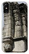 Cathedral Broken Arch At Glendalough IPhone Case
