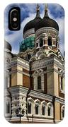 Cathedral In Tallinn IPhone Case