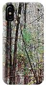 Cathedral In The Woods IPhone Case