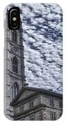Cathedral Notre Dame  IPhone Case