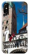 Cathedral Of Augsburg IPhone Case