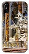 Cathedral Of Chartres Altar IPhone Case