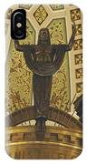 Cathedral Of The Immaculate Conception Detail - Mobile Alabama IPhone Case