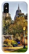 Cathedral Sq. And Rsa IPhone Case