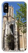 Cathedral St Sauveur - Aix En Provence IPhone Case