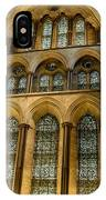Cathedral Walls And Windows IPhone Case