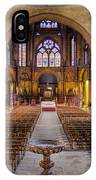 Cathedrale Saint-etienne Interior / Cahors IPhone Case
