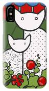 Cats 5 IPhone Case