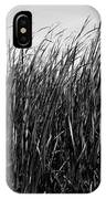 Cattail Reed Background IPhone Case