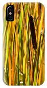 Cattails Aflame IPhone Case