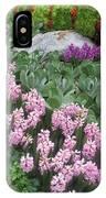 Catterpillar Large Flower Garden Vegas IPhone Case