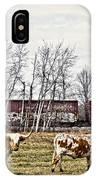 Cattle Train IPhone Case