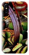 Caught In A Cactus Patch-sold IPhone Case