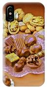 Cchocolates And Sweets IPhone Case