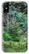 Cedar Along The Trail Of Cedars Glacier National Park  IPhone Case