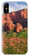 Cedar Breaks Park Panorama IPhone Case