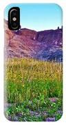 Cedar Pass At Dusk In Badlands National Park-south Dakota IPhone Case