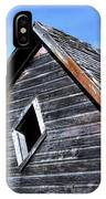 Cedar Shingles IPhone Case