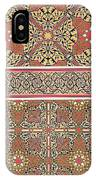 Ceiling Arabesques From The Mosque Of El-bordeyny IPhone Case