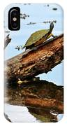 Happy Family Of Turtles IPhone Case