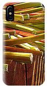 Celery In The Sun IPhone Case