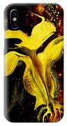 Celestial Flower IPhone Case