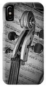 Cello Classic Art IPhone Case
