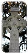 Celtic Cross In Savannah IPhone Case