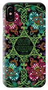 Celtic Fairy Mandala IPhone X Case