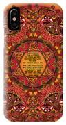 Celtic Fall Fairy Mandala IPhone X Case